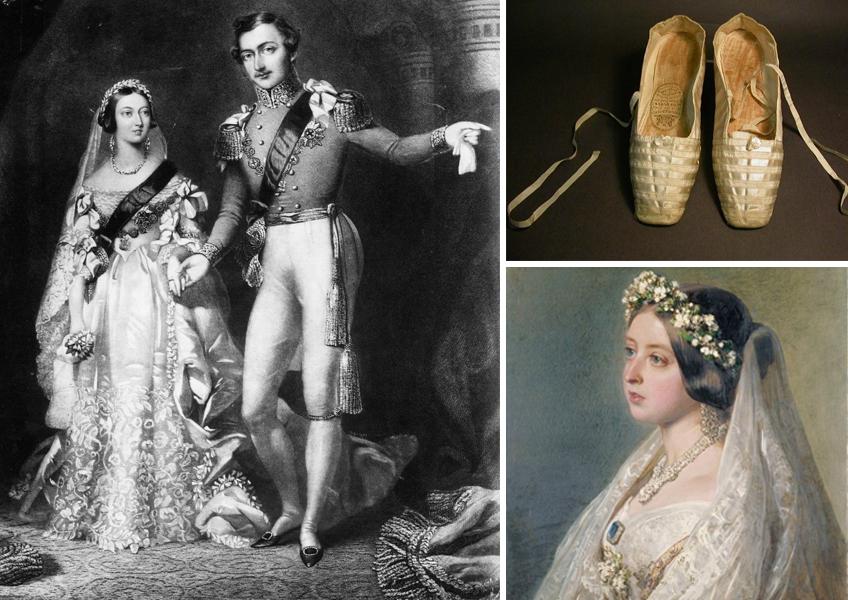 Cipele koje je kraljica Viktorija nosila na svom venčanju čuvaju se u muzeju Northampton