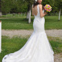 Mina Dragaš je nosila venčanicu Justin Alexander, model 8702