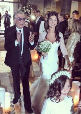 Roberto Kavali vencanje cerke