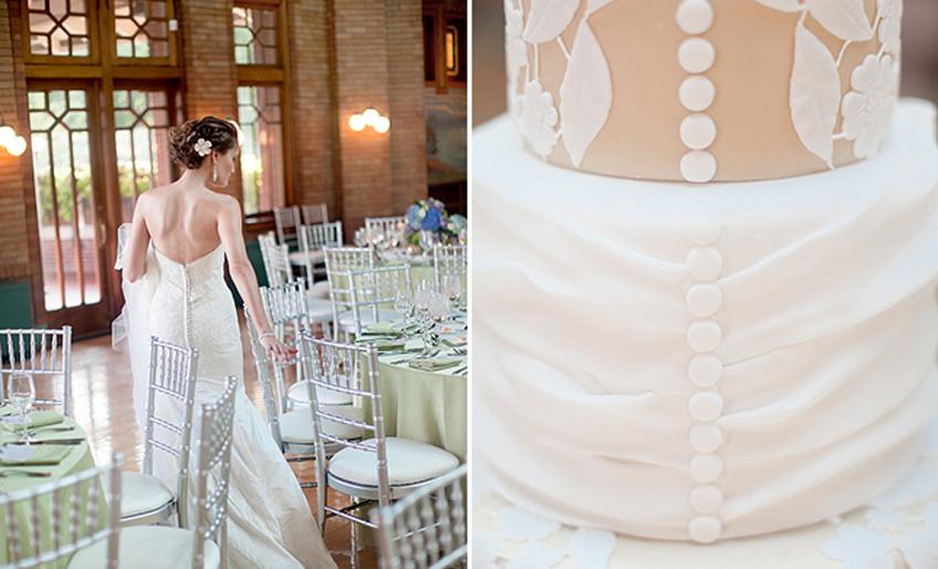 Svadbene torte u stilu mladine venčanice
