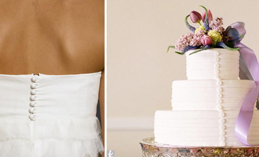 Svadbene torte u stilu mladine venčanice4