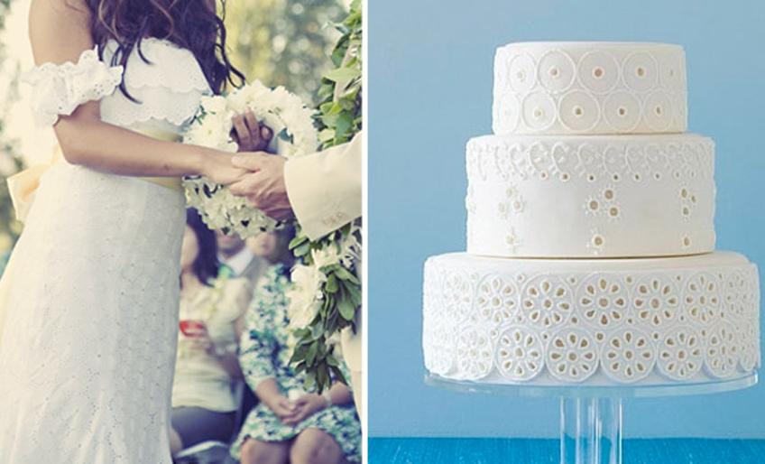Svadbene torte u stilu mladine venčanice5