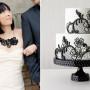 Svadbene torte u stilu mladine venčanice6