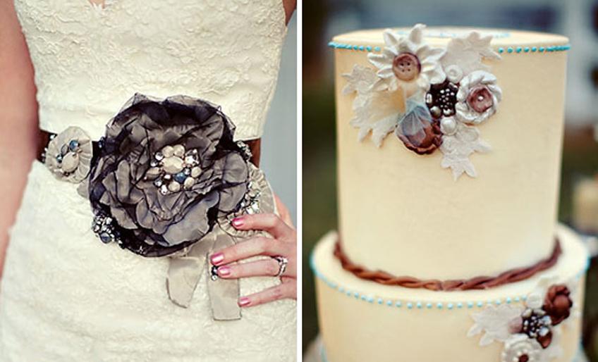 Svadbene torte u stilu mladine venčanice7