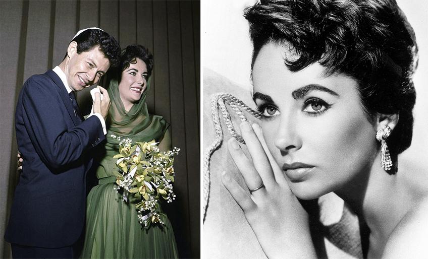Tradicionalnu belu venčanicu, Elizabet je zamenila elegantnom zelenom haljinom