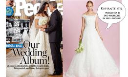 Foto: magazin People i www.oscardelarenta.com/bridal