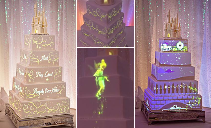 svadbene torte na dizni nacin