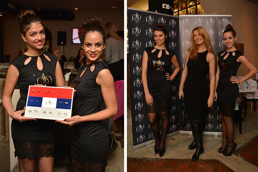 Poznata voditeljka Vesna Dedić takođe je bila na promocije Prve srpske burme
