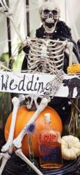Noć veštica inspiracija za venčanje