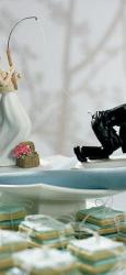 4 ukrasi za svadbenu tortu