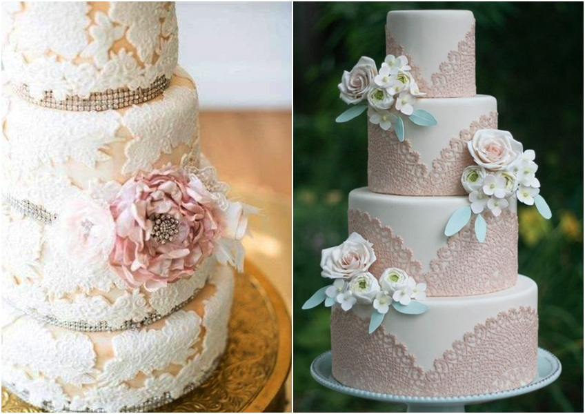 detalji i ukrasi na torti za vencanje 1