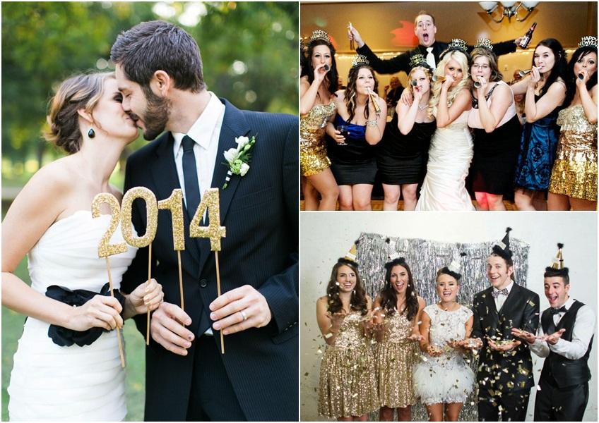 venčanje u stilu nove godine 2