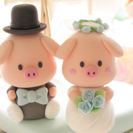 13 ukrasi za svadbenu tortu