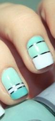 zanimljivo ukrašeni nokti na venčanju