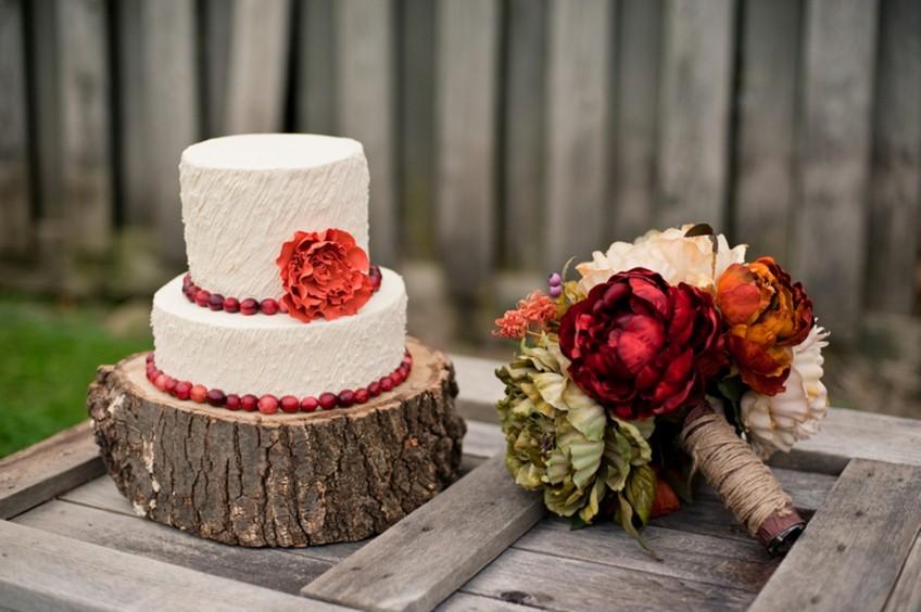 svadba u jesenjim bojama