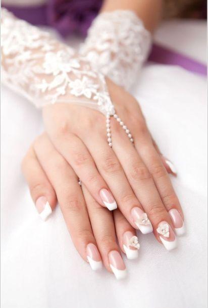 nokti na venčanju