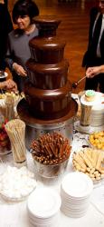 NS slatki snovi Čokoladna fontana